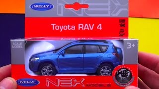 Download Toyota Rav 4 Welly Toys. Video