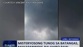 Download Saksi: PAGASA: Misteryosong tunog na narinig sa Batangas, posibleng gawa ng ibon o alon Video
