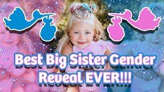 Download BEST BIG SISTER GENDER REVEAL EVER!!! (BOY OR GIRL?) Video