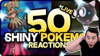 Download 50 AMAZING SHINY POKEMON REACTIONS! Pokemon Sun and Moon Shiny Montage! Video
