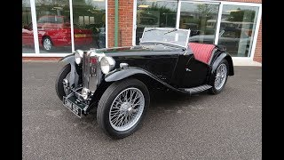 Download SOLD 1938 MG Midget TA roadster Classic Car for Sale in Louth Lincolnshire Video