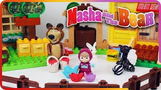 Download ♥ Masha and the Bear Compilation 2015 Маша и Медведь (The Golden Fish, Garden of Ice Cream...) Video