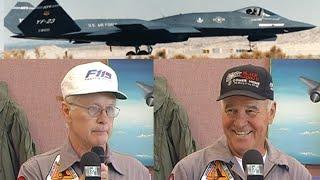 Download YF-23 DEM/VAL Presentation by Test Pilots Paul Metz and Jim Sandberg Video