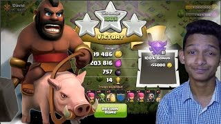 Download How to Hog attack at th 7 with just LEVEL 1 Hogs Video
