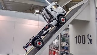 Download Fantastic technology! RC truck with REAL air suspension does 100%! Video