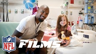 Download Charles Woodson Helps Raise $75 Million for Mott Children's Hospital | NFL Films | A Football Life Video
