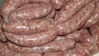 Download How To Make Sausages. Venison And Red Wine.TheScottReaProject Video