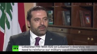 Download Lebanese PM: Our army not Hezbollah's proxy, we are making efforts to let US know it Video