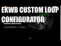 Download How to configure a custom water loop using the EKWB CLC Video