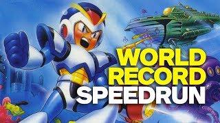Download Mega Man X World Record Speedrun Video