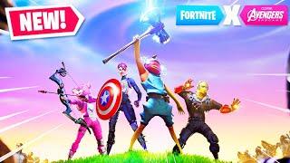 Download *NEW* AVENGERS ENDGAME GAMEPLAY in Fortnite! Video