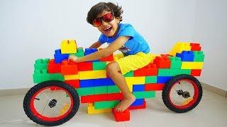 Download Jessy and Miles pretend play with motor bike !!! w/ Mcqueen and Friends Video