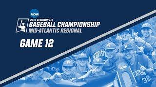 Download 2018 NCAA DIII Baseball Mid-Atlantic Regional - GAME 12 Video
