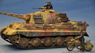 Download King Tiger Ardennes Tamiya 1 35 OOTB Build Video