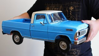 Download FORD F100 EM MINIATURA 1:8 QUE FUNCIONA DE VERDADE? Video