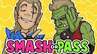 Download SMASH or PASS - FANTASY RACE Edition?! - Random Character Designs Video