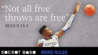 Download Kentucky once blocked a free throw to try to win a game | Weird Rules Ep 3 Video