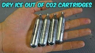 Download Can You Make Dry Ice Out Of CO2 Cartridges? Video