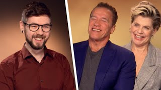 Download I Got Arnold Schwarzenegger To Say ″GET TO DA CHOPPA″ Video