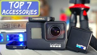 Download GoPro Hero 7 TOP 7 Accessories: Case, Filters, Batteries, Charger and More! Video