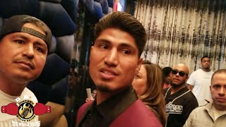 Download Mikey GARCIA & BRONER GET INTO HEATED exchange! Video