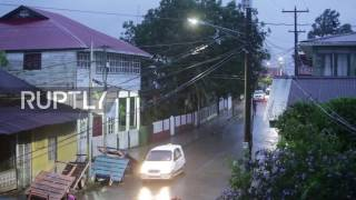 Download Nicaragua: Hurricane Otto reaches eastern coast as 7.0 earthquake strikes Video