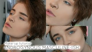 Download ANDROGYNOUS MASCULINE-ISH MAKEUP TUTORIAL Video