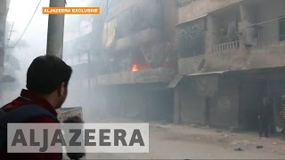 Download Phosphorus bombs rain down on Syria's Aleppo Video