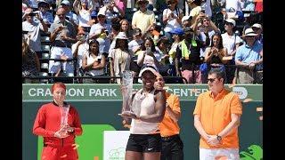 Download 2018 Miami Final | Jelena Ostapenko vs. Sloane Stephens | WTA Highlights Video