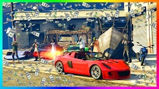 Download GTA ONLINE IMPORT/EXPORT DLC ULTIMATE $10,000,000 NEW GTA 5 MONEY MAKING SPREE EXPORTING RARE CARS! Video