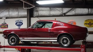 Download 1967 Ford Mustang GT Fastback 2+2, 390 S Code, 4 Speed! @National Muscle Cars Video