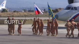 Download Syria: Russian aircraft unit prepares to depart Syria as scale-back continues Video