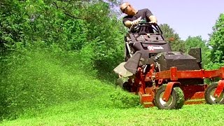 Download Mowing HOA Property Lots of Trimming Video