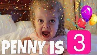 Download PENNY'S 3rd BIRTHDAY VLOG 173 Video