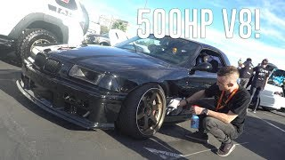 Download Built BMW E36 Sneaks into SEMA! Video