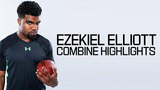 Download Ezekiel Elliott (Ohio State, RB) | 2016 NFL Combine Highlights Video