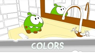 Download Learning colors with Om Nom - Coloring Book Video