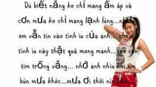 Download Mưa Ơi Thôi Đừng Khóc-Trương Quỳnh Anh-[lyrics] Video