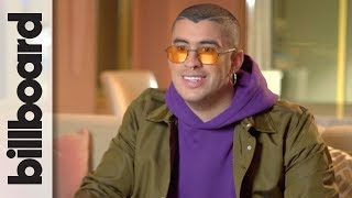 Download Bad Bunny Takes a Look Back at Fashion Highlights Throughout His Career | Billboard Video