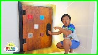 Download Ryan finds a secret door in his room!!!! Video