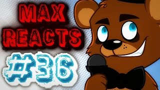Download Max Reacts To - Retarded64: Freddy's spaghettiria Video