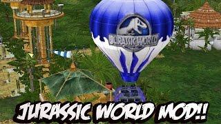 Download Jurassic Park Operation Genesis - CONSTRUYENDO JURASSIC WORLD MOD!!!!! Video