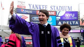Download Justin Trudeau's full commencement speech to NYU graduates Video