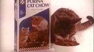Download Vintage Purina Cat Chow Commercial Video