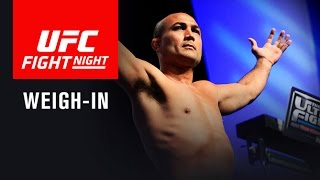 Download UFC Fight Night Phoenix: Official Weigh-in Video
