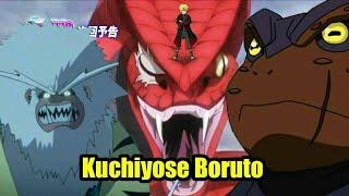 Download Boruto bisa memanggil 4 hewan kuchiyose sekaligus Video
