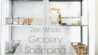 Download How to Zero Waste Grocery Shop | Bulk Bin Shopping at Whole Foods Video