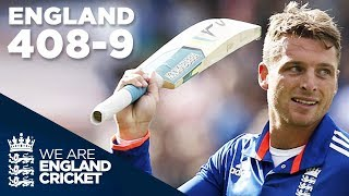 Download England Hit Record 408-9 In ODI v New Zealand 2015 - Extended Highlights Video