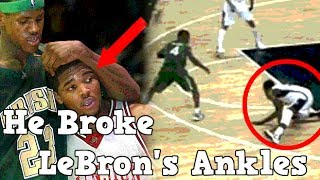 Download Meet The Only Man To Ever Break LeBron James Ankles Video