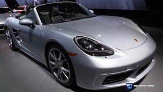 Download 2017 Porsche 718 Boxster - Exterior and Interior Walkaround - 2016 LA Auto Show Video